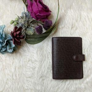 Louis Vuitton Brown Small Planner